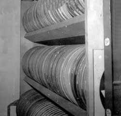 (Photo of film rack)
